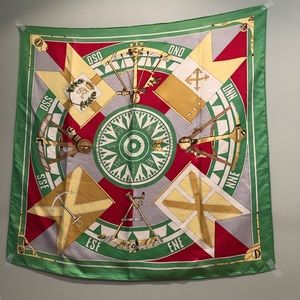Authentic Hermes Vintage Scarf 90 x 90cm